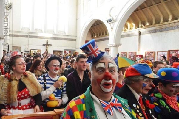 THE CLOWNS CHURCH SERVICE