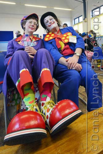 THE CLOWNS CHURCH SERVICE
