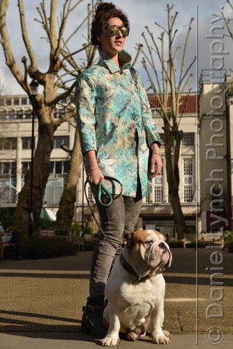 03/03/15. FLORAL FASHIONS CREDIT: DANIEL LYNCH. 07941 594 556. www.lynchpix.co.uk